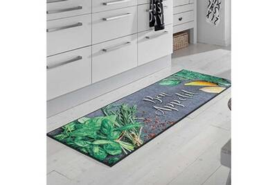 Bonapeti kt gris 60 x 180 cm tapis cuisine par unamourdetapis
