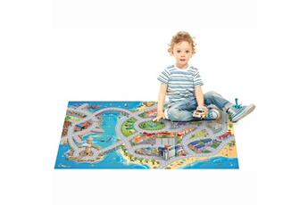 Tapis enfant House Of Kids Mer multicolore 100 x 150 cm fabriqué en europe tapis pour enfants chambre par house of kids