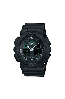 Casio g-shock  analog-digital montre ga-100mb-1a - noir