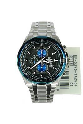 Montre homme Casio Casio edifice chronograph montre ef-539d-1a2v - bleu 9e919c0cfed6