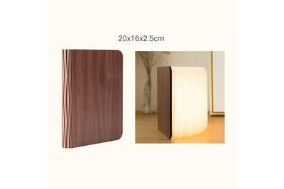 Pliant Bois En Forme Blanc 5cm Livre Chaud Lampe 20x16x2 Led De dBeCxro