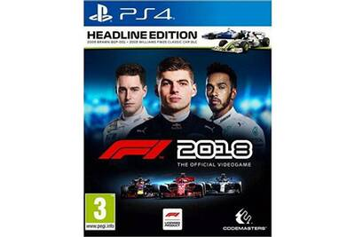 jeux ps4 codemasters f1 2018 ps4 darty. Black Bedroom Furniture Sets. Home Design Ideas