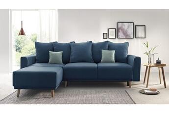 Canapé d angle Bobochic mola - canapé d angle gauche convertible en tissu  couleur 12b9f3b12204
