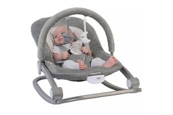 Transat bébé Bo Jungle B-rocker transat pour bébés gris b700100