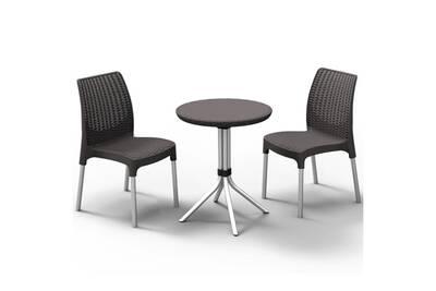 Ensemble table et chaise de jardin Keter Jeu de bistro chelsea ...