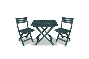 Ensemble Table Et Chaise De Jardin Plastique. Elegant Bois Chaise ...