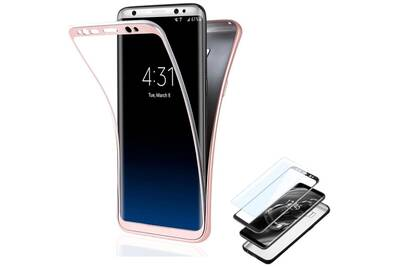 samsung galaxy s7 edge coque rose