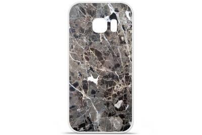 coque galaxy s7 silicone marbre