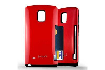 Coque hybride samsung galaxy note 4 couleur rouge