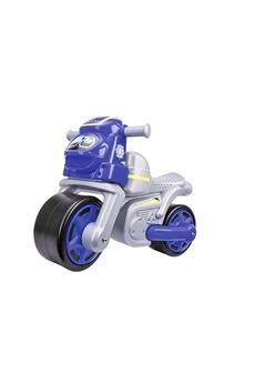 Véhicules miniatures Big Big 800056312 big -moto de la police pour enfant -youpala - bleu-argent