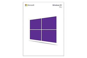 Logiciel Microsoft Windows 10 professionnel 32/64 bits - 1 poste - cle d'activation uniquement - produit français