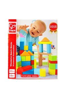 Autres jeux de construction Hape Hape e8247 set de blocs de bois color?s, 101 pi?ces.
