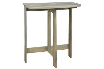 Ensemble table et chaise de jardin Esschert Design Table murale ...