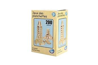 Kapla Be Toy's Jeu 200 planchettes en bois
