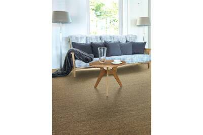 Tapis salon sisal salvador orange 140 x 200 cm tapis naturel par  unamourdetapis