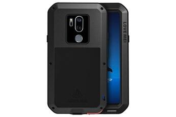 a3c35c752306ac Coque smartphone Coque étanche lg g7 thinq bi-matières verre trempé powerful  love mei -