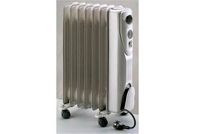 Chauffage soufflant Plein Air Radiateur à bain d'huile 1500 w - holly 1500 - erc2-1507