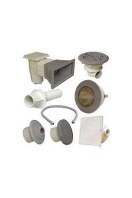 innovative design factory outlets 100% quality Kit n°2 pièces à sceller grises pour piscine béton