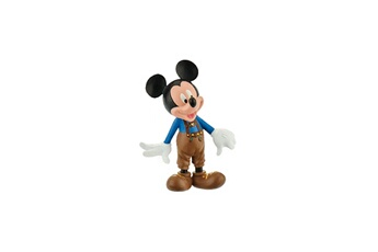 Figurine Bullyland Mickey mouse & friends - figurine mickey bavarois cuir 7 cm
