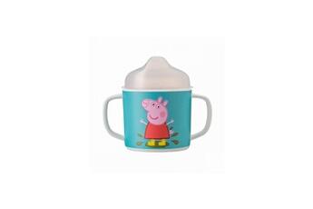 Vaisselle bébé PETIT JOUR Tasse 2 anses anti derapante peppa pig