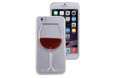 coque verre de vin iphone 5