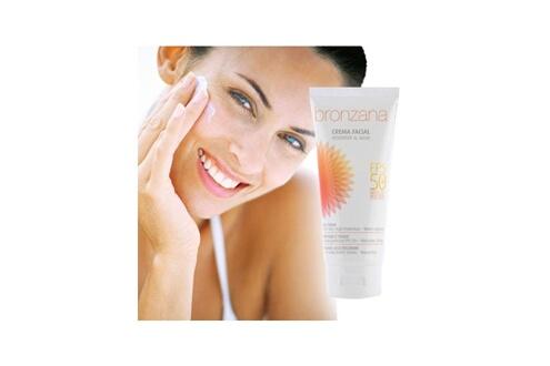 Primizima Crème solaire visage fps +50 bronzana