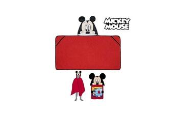 Autres jeux créatifs Mickey Mouse Serviette poncho avec capuche mickey mouse 7584