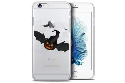 Coque crystal iphone 6/6s plus (5.5) extra fine halloween - chauve citrouille