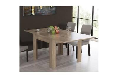 Finlandek Table A Manger Extensible Nuori 6 A 8 Personnes Style Contemporain Décor Chene Clair L 96 190 X L 95