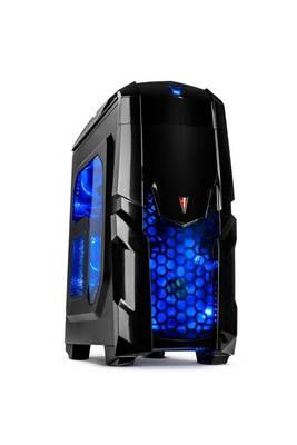 Pc gamer advanced intel i5-9400f, geforce gtx1050 2go, 8go ram ddr4, 240go  ssd, 1to hdd, wifi, cardreader  Unité centrale sans os