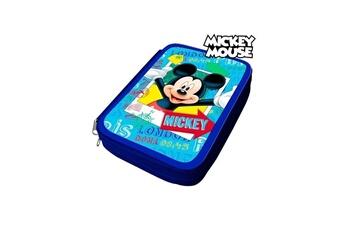 Autres jeux créatifs Mickey Mouse Pochette crayons mickey mouse 32480 bleu