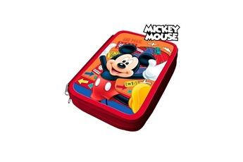 Autres jeux créatifs Mickey Mouse Trousse d'écolier mickey mouse 32497 orange