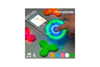 Autres jeux créatifs Innovagoods Spinner led avec haut-parleur et bluetooth innovagoods