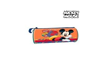 Autres jeux créatifs Mickey Mouse Trousse d'écolier cylindrique mickey mouse 32367 orange