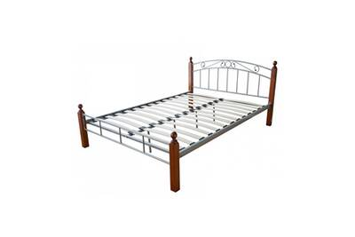 Lit 1 Place Homestyle4u Design Metal Lit Double 180 X 200 Cadre De