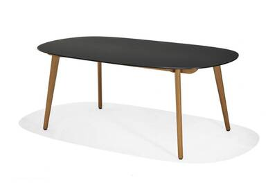 Table de jardin Lifestyle Garden Table ovale 190x105cm plateau ...