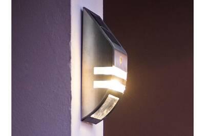 Luminaire dambiance extérieur galix applique extérieure solaire