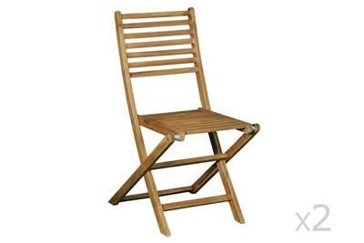 Ensemble Table Et Chaise De Jardin Delamaison Chaise Pliante En