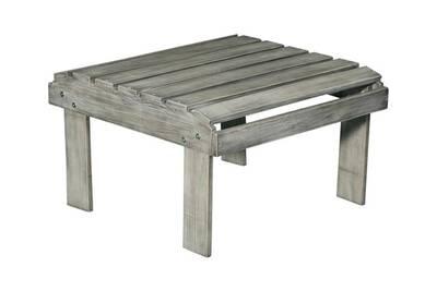 Table de jardin Delamaison Table basse / repose pieds en bois acacia ...