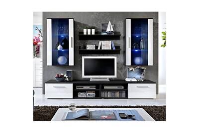 chaussures de sport b93a8 79547 Ensemble meuble tv mural design