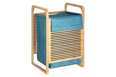 e920cb389b5 Accessoires de salle de bain Paris Prix Panier a linge en bambou