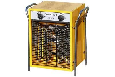 Chauffage à pétrole / gaz Master Radiateur soufflant électrique b5epb 510 m³/h