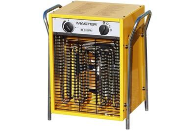 Chauffage à pétrole / gaz Master Radiateur soufflant électrique b9epb 800 m³/h