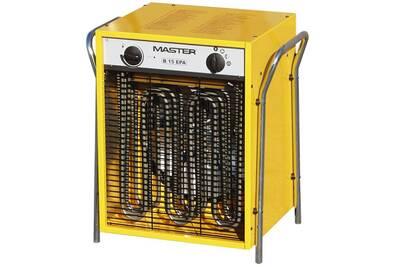 Chauffage à pétrole / gaz Master Radiateur soufflant électrique b15epb 1700 m³/h