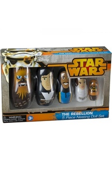Figurines personnages Ppw Toys The rebellion (star wars) nesting doll set