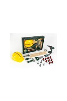 Jeux en famille KLEIN Bosch - set bricoleur bosch avec visseuse et casque pour enfant