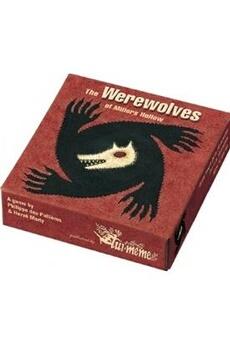 Jeux de cartes ASMODEE Les loups-garous de millers hollow
