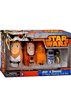 Figurines personnages Ppw Toys Jedi & droids (star wars) nesting doll set