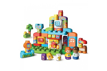Jouets premier âge Vtech Bla-bla-blocks - ma maison alphabet interactive