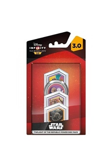 Figurine Disney Disney infinity 3.0: (star wars twilight of the republic) power disc pack